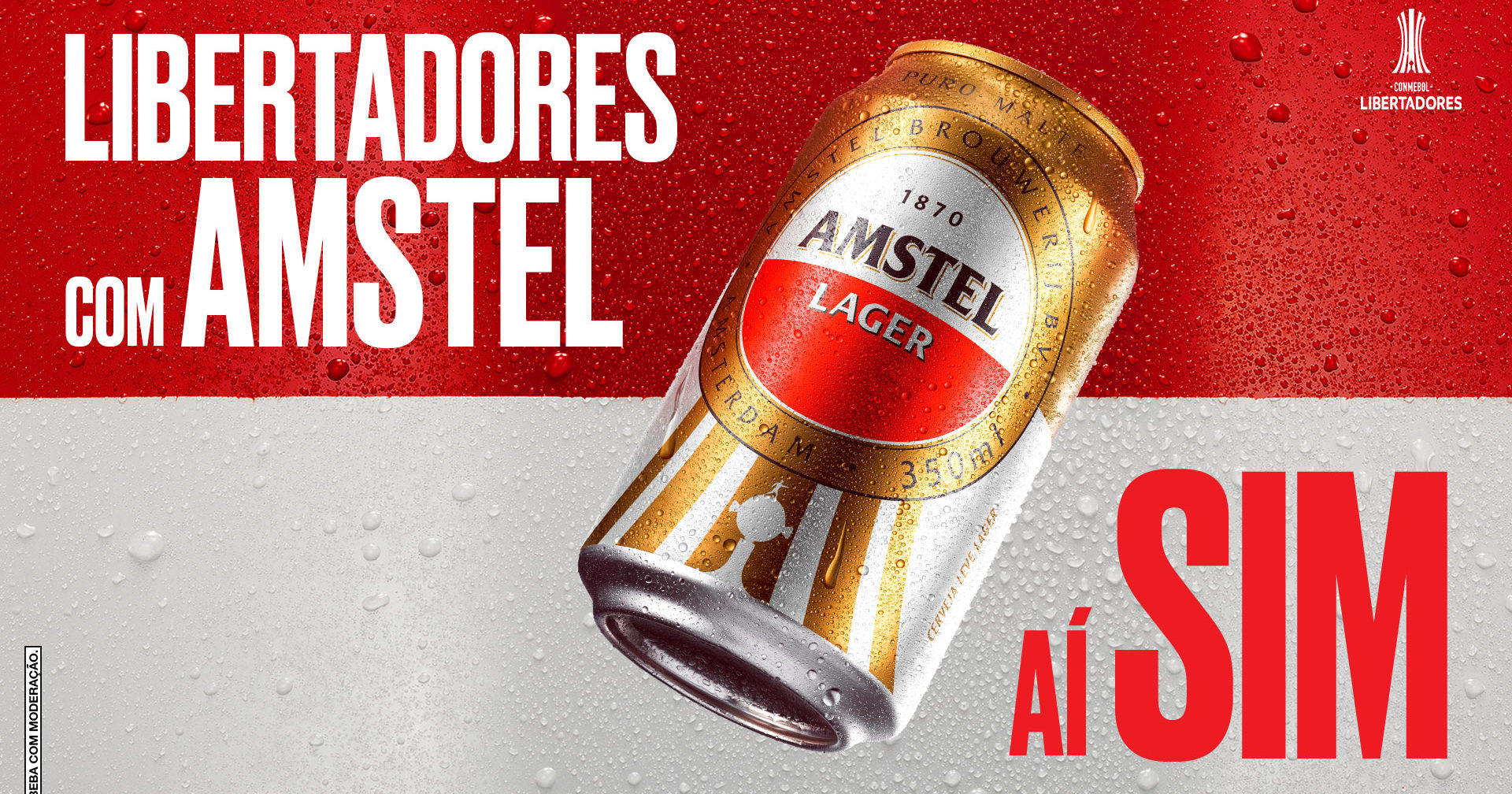 Amstel Signs South American Double With Copa Libertadores Sudamericana Sportbusiness